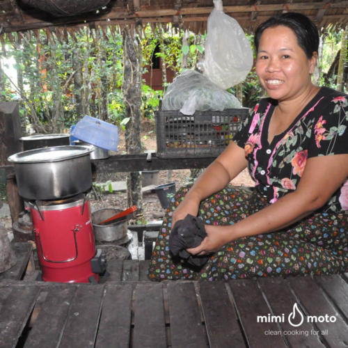 22 - Mimi Moto Clean cookstove tier 4 Myanmar WVI clean cooking
